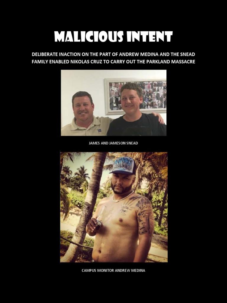 Malicious Intent - Nikolas Cruz's Accomplice   Violence