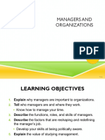 Chapter 01 - Managers & Organizations