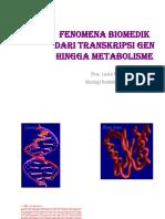 Fenomena Biomedik Dari Transkripsi Gen Hingga Metabolisme