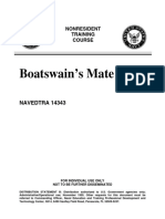US Navy Course Boatswains Mate NAVEDTRA 14343
