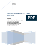 Hominideos Do Plistocénio Médio e Superior