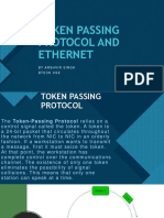Token Passing Protocol and Ethernet