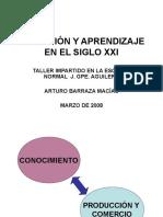 Cognicion-aprendizaje-siglo.ppt