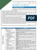 Planejamento Anual de Matemática - 6º Ano - Alinhado à BNCC.
