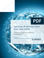 Spectrum Refarming Made Easy With USON