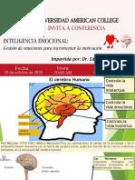 Inteligencia Emocional Gestion de Emociones Para Incrementar Motivacion-Dr Edgard Yesca Palacios