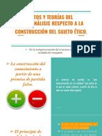 """S.bleichmar """"La construcción del Sujeto Ético""""."""