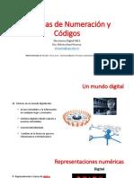 Sesión 1 - Sistemas de Numeración y Códigos