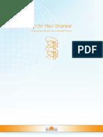 Profile Sri Sri Ravi Shankar En