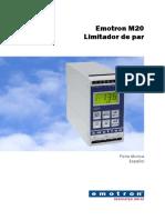 Emotron m20 Data Sheet 01-4134-04 Es