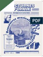 Nocturnes-d'Opale-2019 Affiche Du Concert Du 3 Juillet