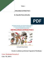Extractiva I.tema 1 2019 I