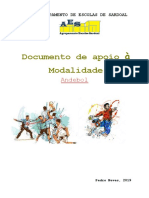 Andebol - documento de apoio