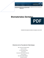 Biomateriales Dentales 2018-2019
