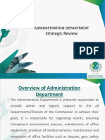 Dept Strategic Review January 2019