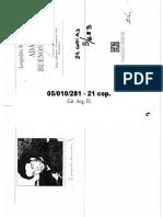 GRAMUGLIO - Retrato Del Escritor Como Matinfierrista Muerto