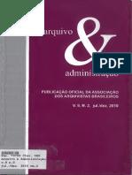 Arq. & Adm., Rio de Janeiro, v. 9, n. 2, jul. dez. 2010 - Arquivos Públicos Brasileiros.pdf