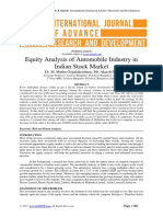 equity analysis of automobile sector
