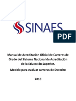 Manual Acreditación del SINAES