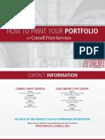 How to Print Your Portfolio w Links