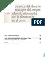 Cap 15 Papel Social Del Alimento y Patologias Del Comportamiento Relacionadas Con La Alimentacion en El Perro