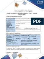 Guía de Actividades y Rúbrica de Evaluación Fase 3 Realizar Lluvia de Ideas