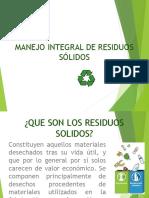 Presentación Residuos sólidos