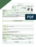 Ficha Tecnica de Equipo (Tanque Agitador-Mezclador)