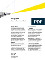 21 July Nigeria - New Pension Rules for Nigeria