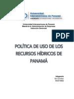 Recursos Hídricos de Panamá