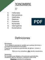 5. El Pronombre (1)