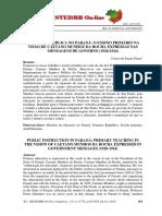 Instrução Pública no Paraná