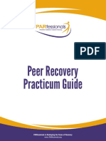 PARfessionals Peer Recovery Practicum Guide (2013) FIRST EDITION