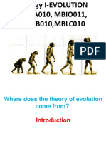Mblb 010 Evolution Lecture 1-10 (2017)