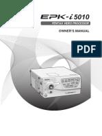 EPK i5010 Manual