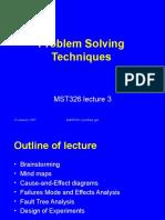 MST326 3 Problem