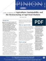 The Chains of Agriculture Sustainability and the R
