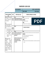 Planificación Lenguaje 3°MB semana del 29 de abril 2019