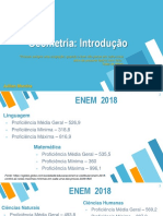 Introdução a Geometria - ENEM 2019
