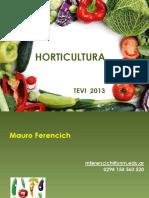 Presentación Horticultura Clase 0 Tevi 2013