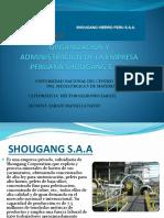 Organización y Administración de La Empresa Peruana Shougang. 1pptx