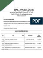 Microsoft Word - Plano de Manutenção Preventiva Secretaria de Saúde Fevereiro
