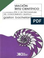 Bachelard Gaston La Formacion Del Espiritu Cientifico 1 19 Pintado