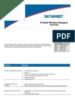 ProSoft Wireless Designer Datasheet