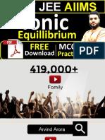 ionic Equilibrium mcq jee neet.pdf