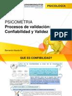 Unidad 4 Procesos de Validacion Confiabilidad y Validez 2018 2 (1)