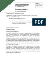 Guia de Aprendizaje Administracion General