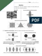 Anexo B1. Ficha de Trabalho Simetrias