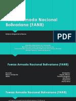 Fuerza Armada Nacional Bolivariana (FANB)