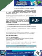 EVIDENCIA 5 - ESTUDIO DE CASO LA IMPORTANCIA  DE APRENDER UN IDIOMA
